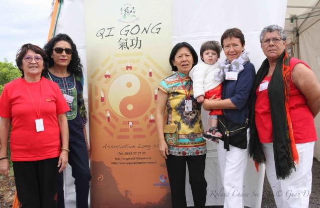L'association Long Shan a présenté ses activités et effectué des démonstrations de Qi Qong