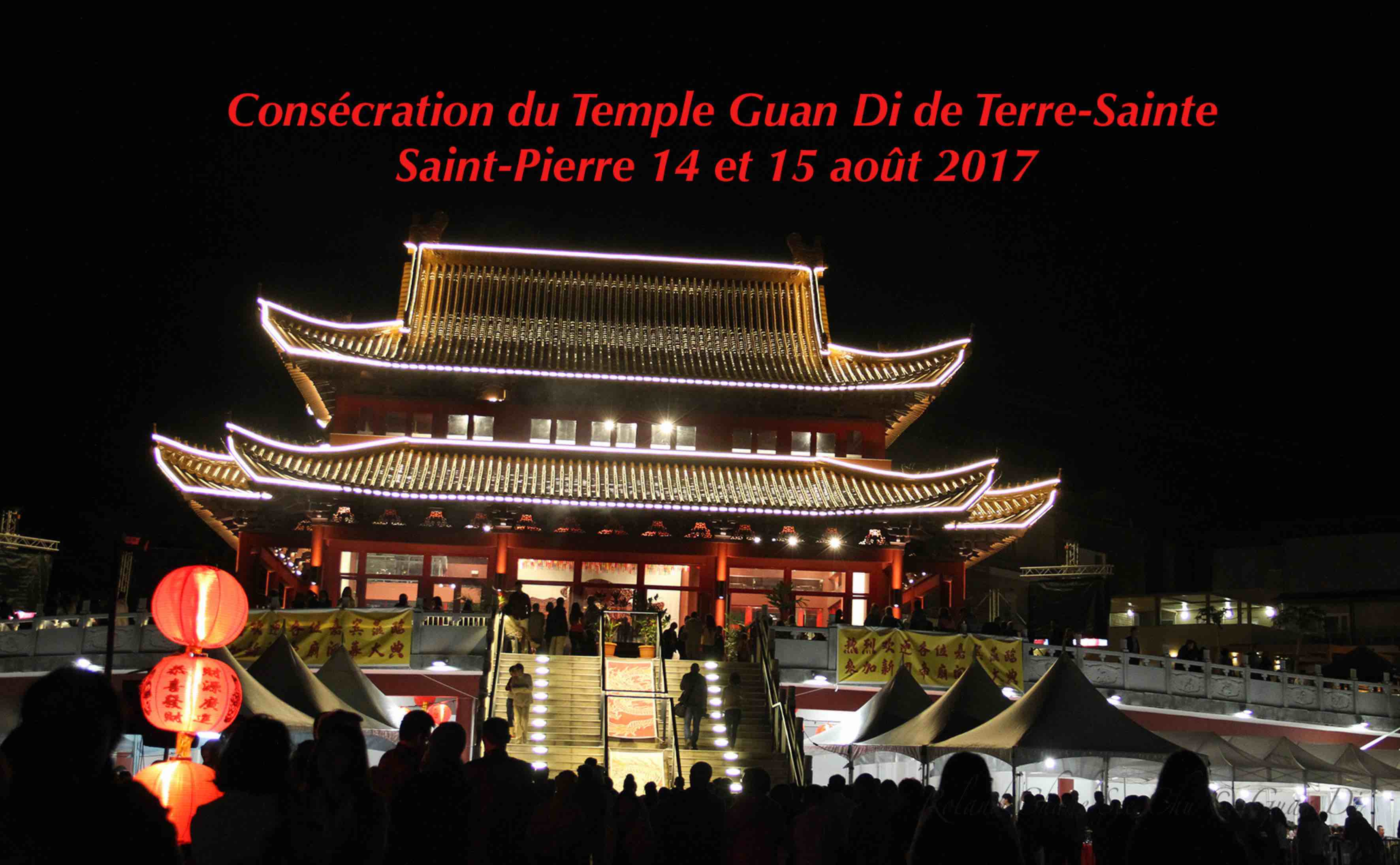Sur les hauteurs de Terre-Sainte s'élève le plus grand temple Guan Di de tout l'océan indien