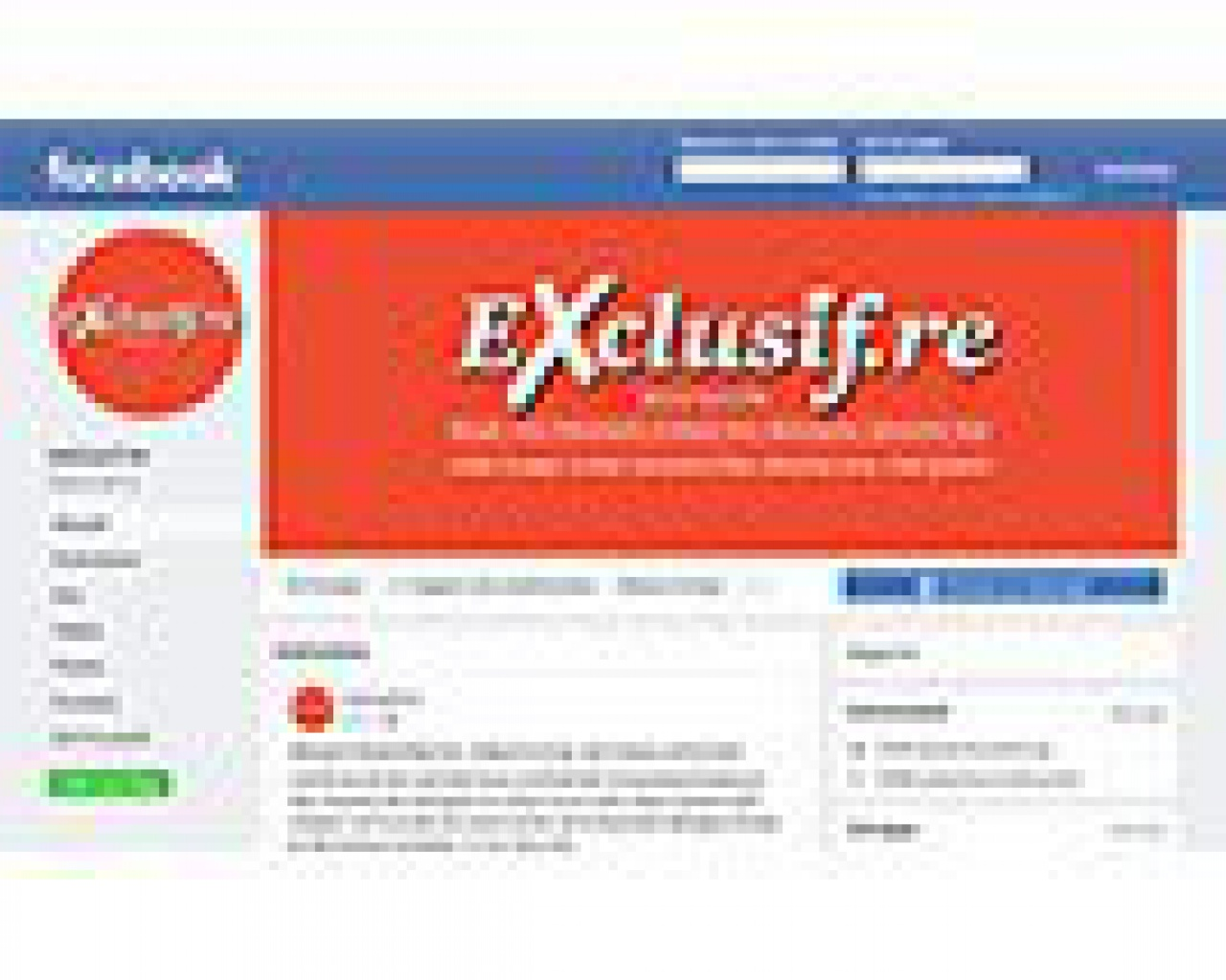 Facebook Exclusif Réunion