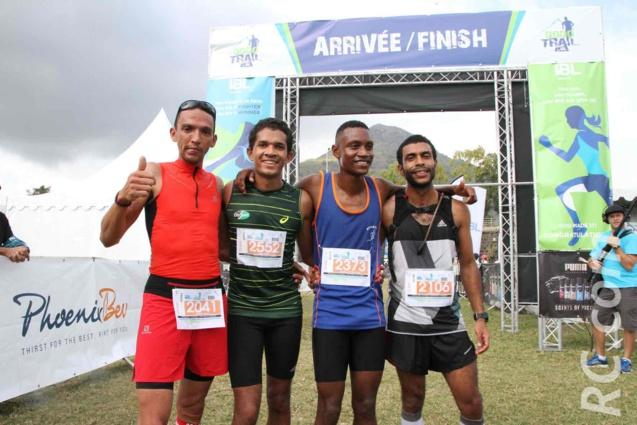 Les quatre premiers des 10 km