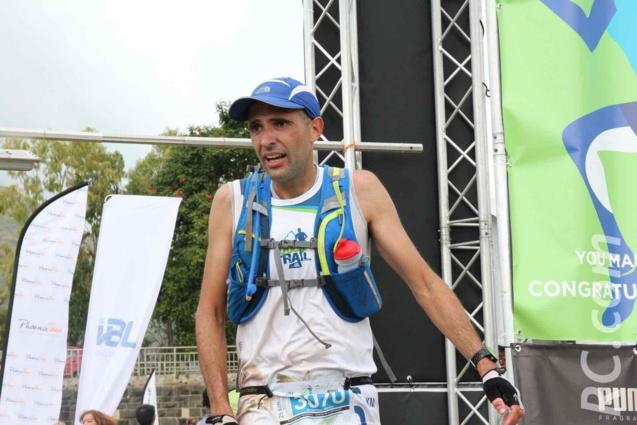 Stéphane Girodanengo, 3ème des 25 en 3h 01'11''