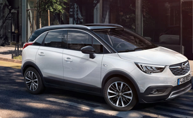 opel crossland x un crossover familial ambitieux. Black Bedroom Furniture Sets. Home Design Ideas