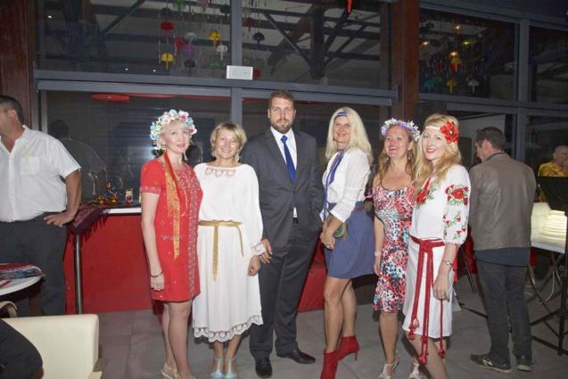 L'Amicale Franco-Russe de La Réunion avec le représentant de la Préfecture