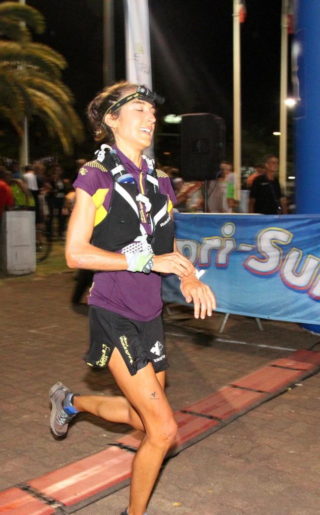 Chez les féminines, Coline Brandrabor signe le meilleur temps de 1h 56'26'' sur les 20 km