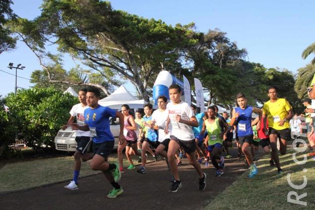 Une course pour les plus jeunes en ouverture de la manifestation