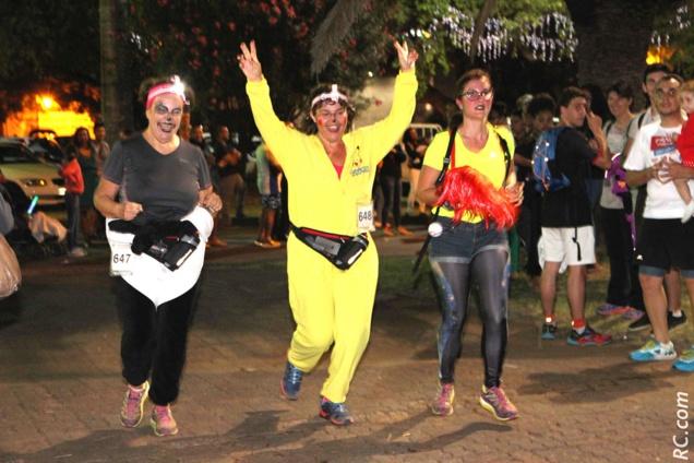 Courir déguisé était conseillé par les organisateurs, histoire de mettre un peu plus d'ambiance