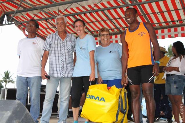 Un Kid's Athlétisme a été offert par la Ligue Réunionnaise d'Athlétisme à STASA