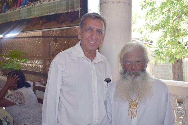 Aziz Patel et Kichenin Sadeyen