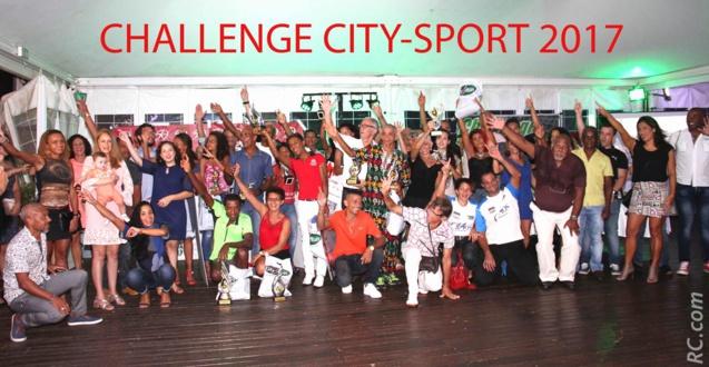 Y avait d'la joie lors de cette belle remise des récompenses du Challenge City-Sport