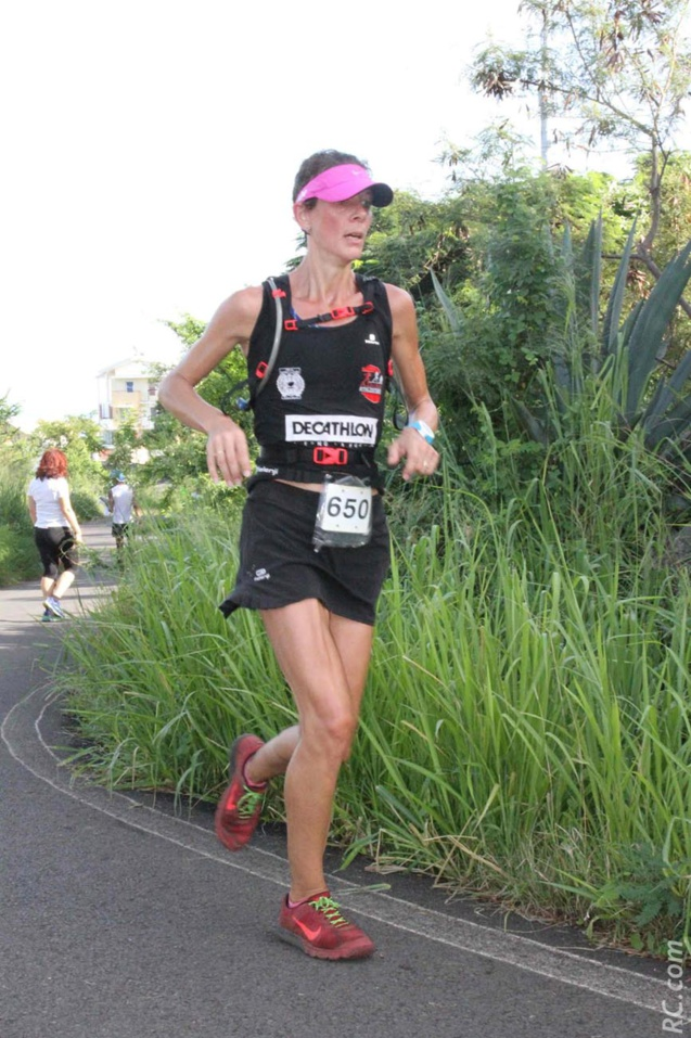 Anne Atia médaillée d'argent sur 15km