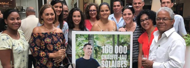 160 000 chauffe-eaux solaires à La Réunion!