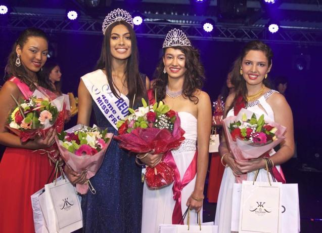 Miss Réunion avec les lauréates