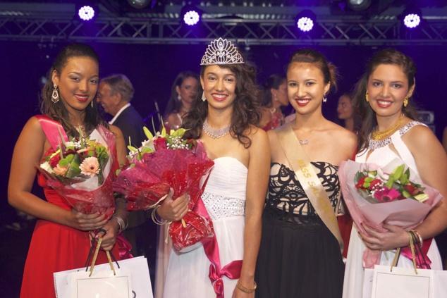 Miss Salazie 2018 et 2017 réunies