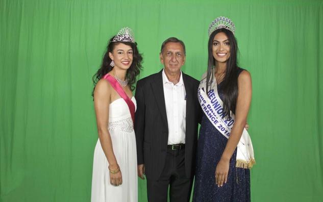 Miss Salazie, Aziz Patel, et Miss Réunion