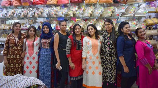 L'équipe de la boutique