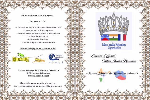 Miss India Réunion 2018: les 10 candidates à l'île Maurice