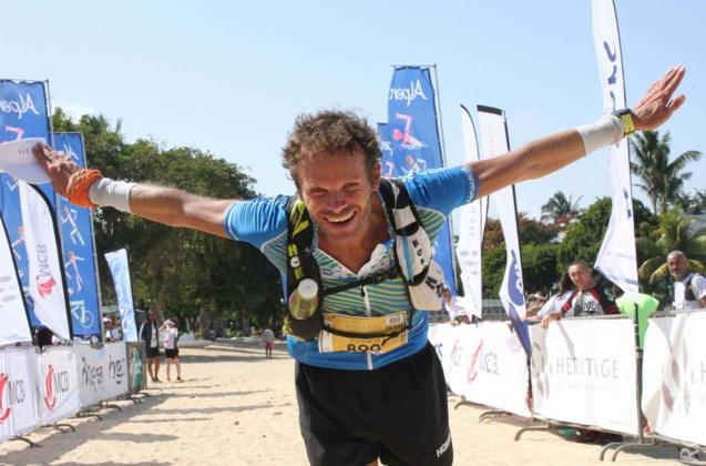 Le champion français Ludovic Pommeret a survolé le Trail Heritage 2018