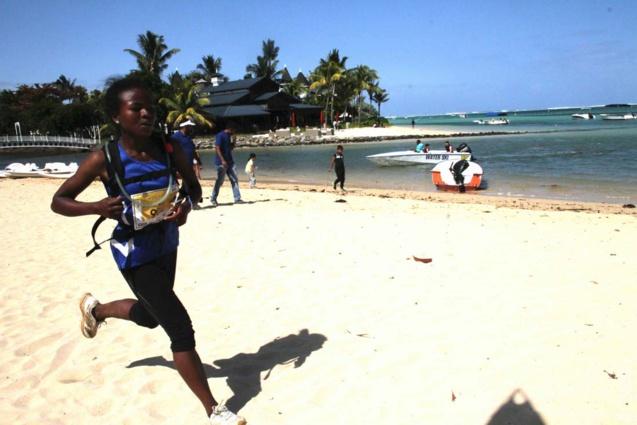 La malgache Marie Noeline Razafiarisoa est 3ème en 7h 53' 56''