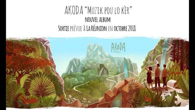 L'album sort en premier à La Réunion!