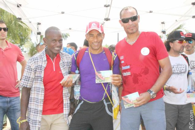 Trois Martiniquais dans la course. « C'est notre deuxième Grand Raid »
