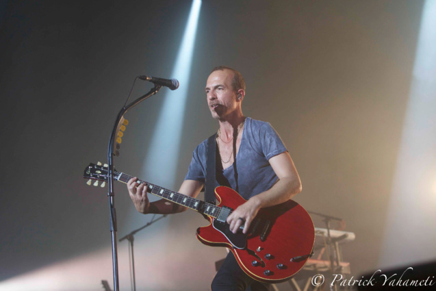 Calogero en concert à Saint-Denis: les photos