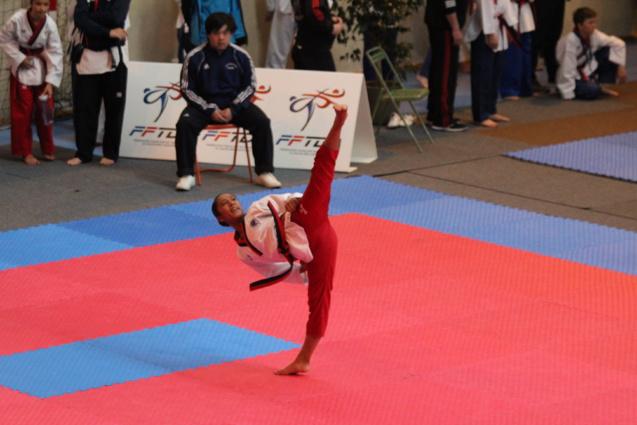 Candice Niclin, championne de Taekwondo