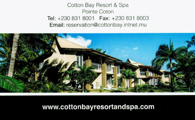 Rodrigues: Ashok Mooroteea, nouveau directeur du Cotton Bay Resort & Spa