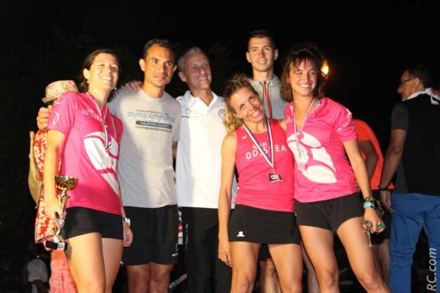 Les filles d'Odessa, vainqueurs du relais