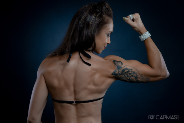 Des muscles bien dessinés (photo Laurent Capmas)