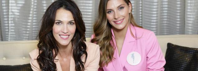 Linda Hardy et Camille Cerf, deux Miss dans le rôle de commissaires-priseurs