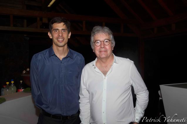 Yves Gauvin et Patrick Josset