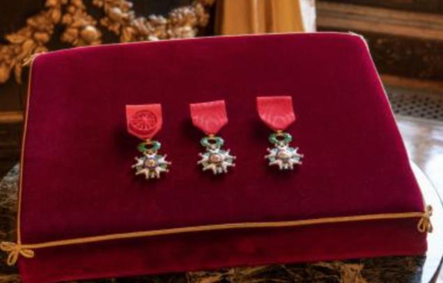 Légion d'Honneur: 3 Réunionnais dans la promotion de janvier 2019
