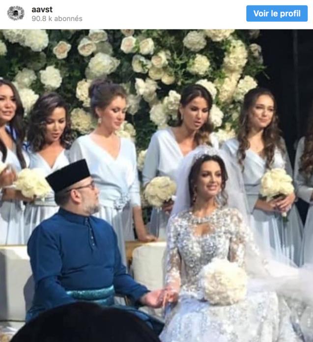 Ezzat Tahir, une célébrité malaisienne, avait publié les photos du mariage sur son réseau social