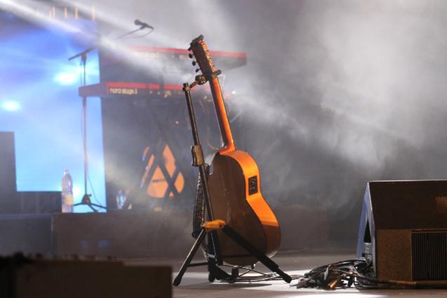 Kendji Girac en concert à Miel Vert: les photos