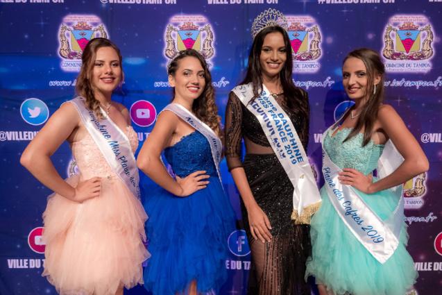 C'était la première sortie officielle de Miss Réunion 2018 depuis son retour de la finale Miss France
