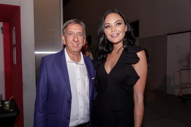 Aziz Patel et Valérie Bègue