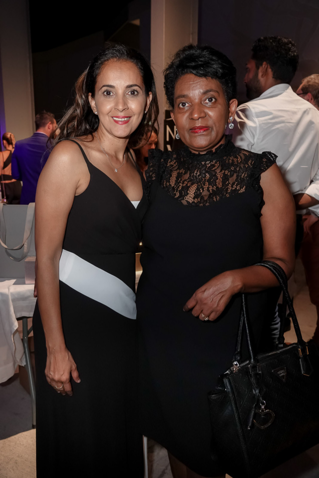 Amida Hussein, directrice Miss Agency, et Virgina Boyer