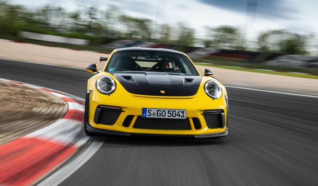 La 911 est toujours un modèle très prisé...