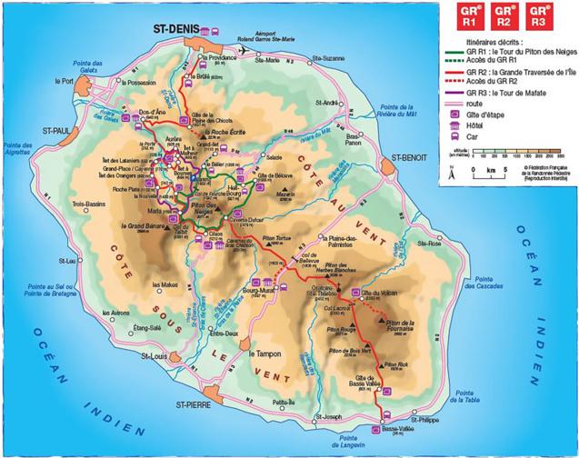 Randonnée Pédestre: le GR R1 de La Réunion plébiscité par les Français!