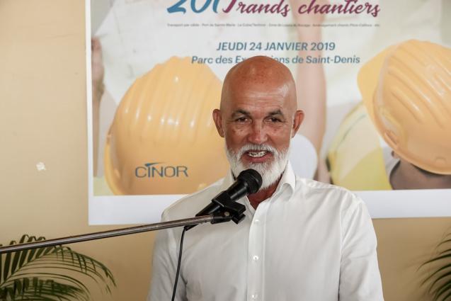 Vœux à la presse de Gérald Maillot, président de la CINOR