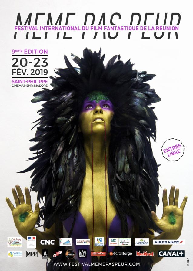 L'affiche du Festival MEME PAS PEUR