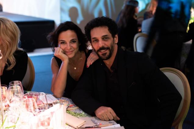 Sandra Zeitoun et Tomer Sisley