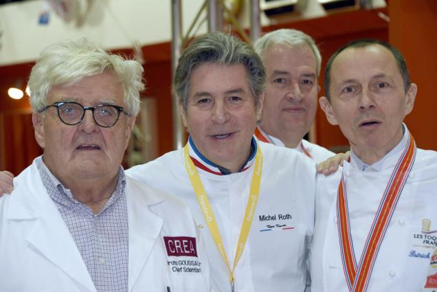 Michel Roth, chef étoilé invité du salon