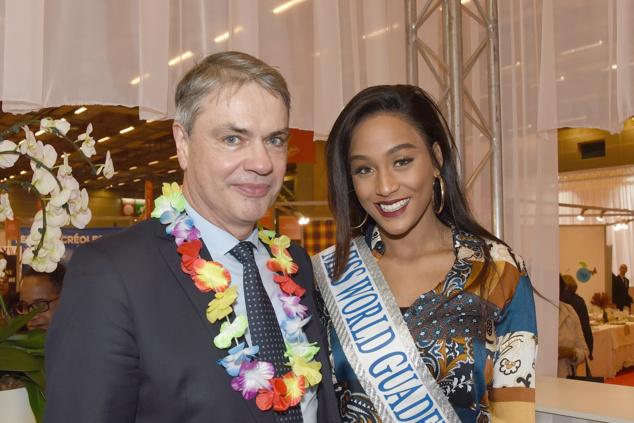 Hervé Deperrois, directeur ODEADOM, et Morgane Thérésine