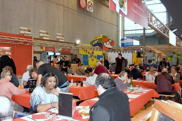 Restaurant Réuni Rhum