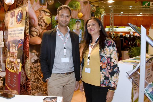Ridwane Issa (Maison de l'Export) et Pascale Boyer (IRT)
