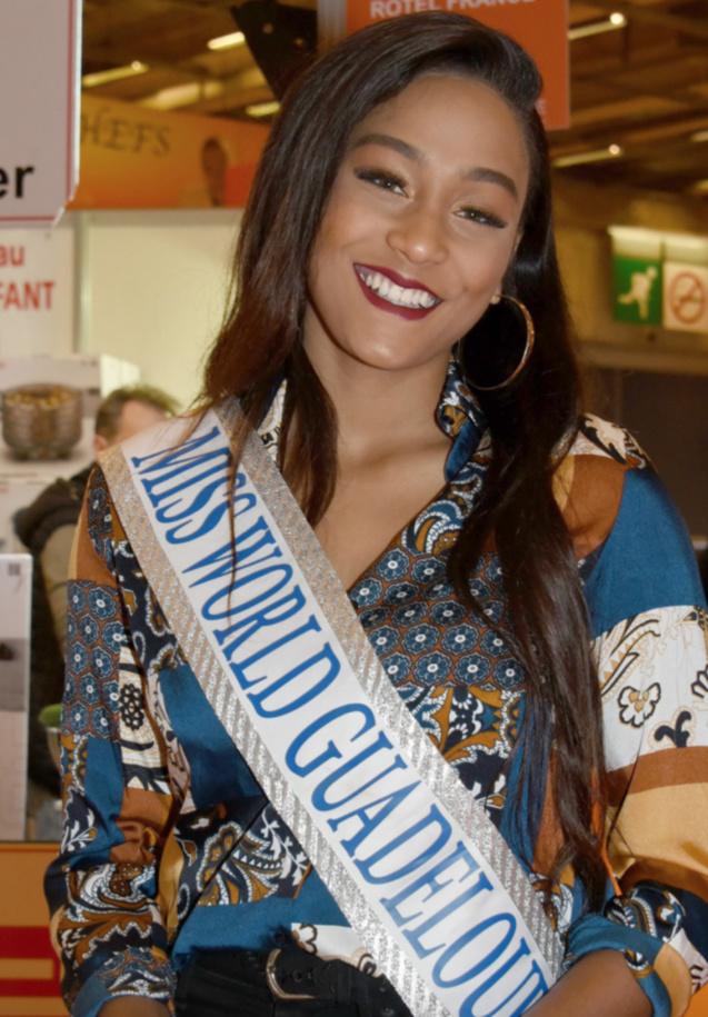 Morgane Thérésine, Miss Guadeloupe 2016