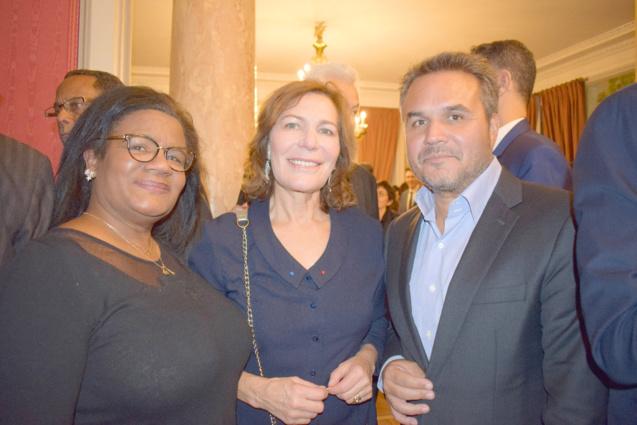 Mémoona Affejee-Hintermann, et Didier Robert