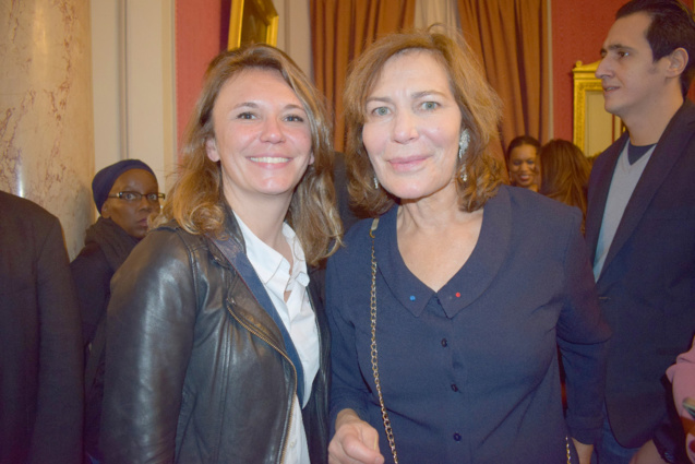 Magali Oger, chargée de production à Paris, et Mémoona Affejee-Hintermann