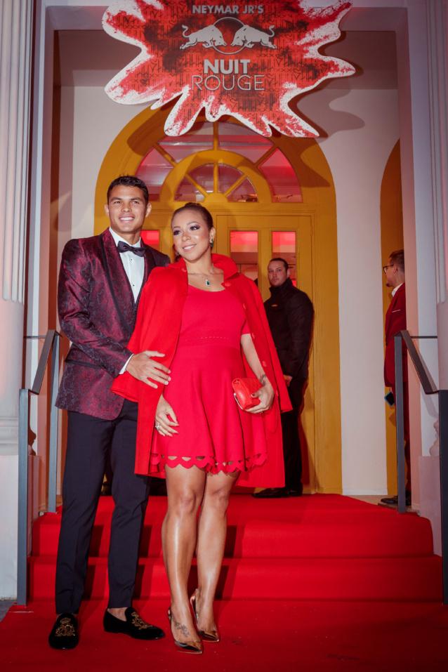 Thiago Siliva et son épouse